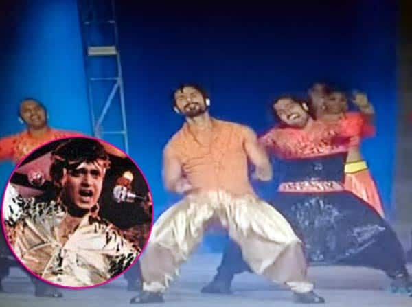 IPL 2015: Shahid Kapoor pays a tribute to disco king Mithun Chakraborty