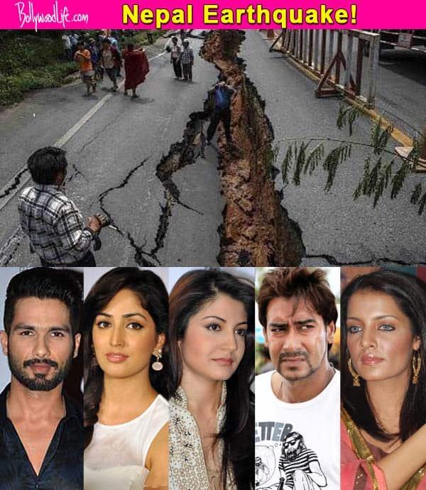 Anushka Sharma, Ajay Devgn, Shahid Kapoor, Yami Gautam, Celina Jaitley react to Nepal earthquake