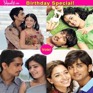 Genelia D'Souza, Shruti Haasan, Samantha or Tamannaah - who looks best opposite birthday boy Siddharth? Vote!