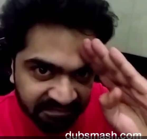 Simbu does a Rajinikanth from Padayappa – watch video!
