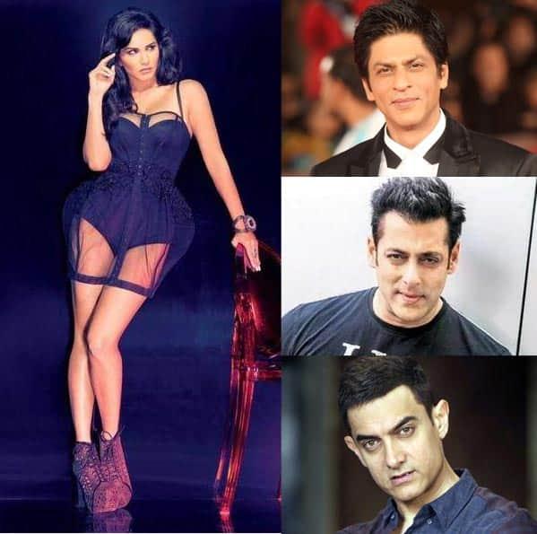 Aamir Khan, Shah Rukh Khan and Salman Khan are on Sunny Leone's bucket list!