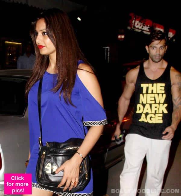 Karan Singh Grover in stalker mode for Bipasha Basu- view pics!