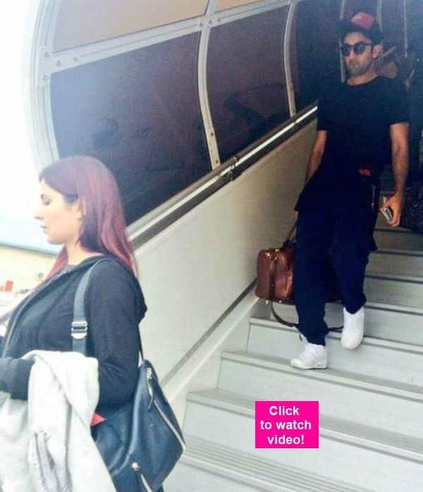 Ranbir Kapoor- Katrina Kaif arriving at Maldives for a romantic holiday- watchvideo!