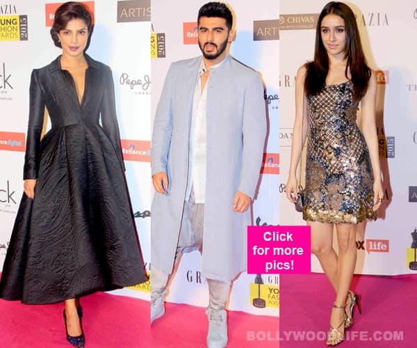 Priyanka Chopra, Arjun Kapoor, Shraddha Kapoor dazzle at the Grazia Young Fashion Awards- view pics!