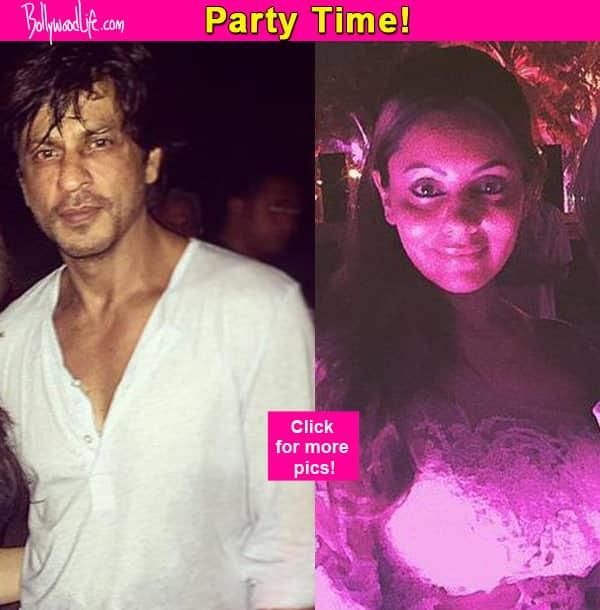 Shah Rukh Khan and Gauri Khan party hard in Goa- view pics!