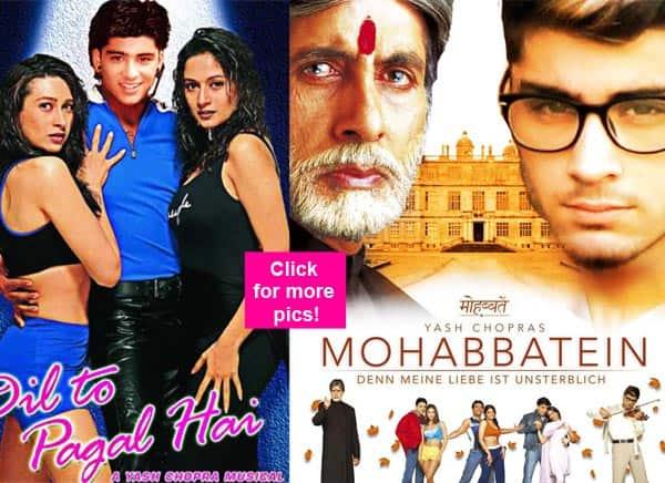 Shahrukh khan romantic movies list
