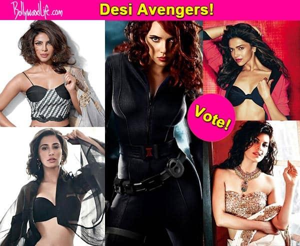 Priyanka Chopra, Deepika Padukone, Nargis Fakhri or Jacqueline Fernandez – who should play Black Widow in desi version of Avengers? Vote!