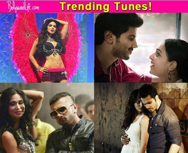 Yo Yo Honey Singh's Birthday Bash, Varun Dhawan's Jeena Jeena, Sunny Leone's Desi Look top the charts this week!