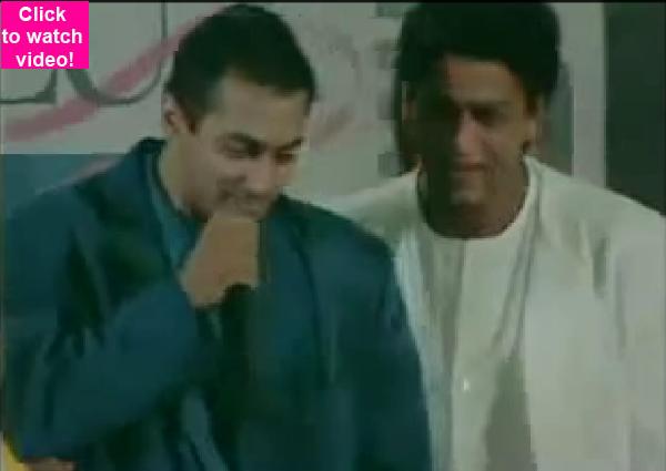 Watch video: When Shah Rukh Khan dedicated his award to Salman Khan in 1998!