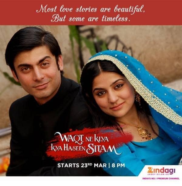 "Fawad Khan's Zindagi show Waqt Ne Kiya Kya Haseen Sitam sparks controversy for being ""pro-Pakistan"""