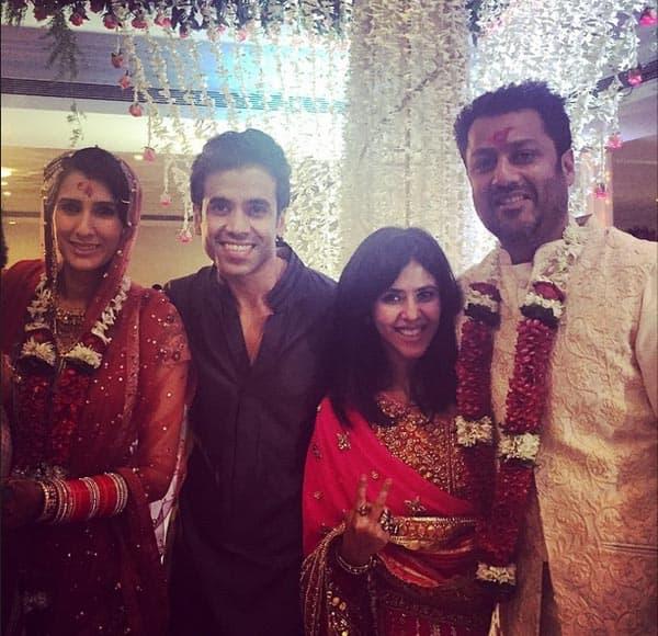 Shobha kapoor pictures of wedding
