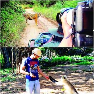 Pulkit Samrat takes off for a wildlife safari- view pic!