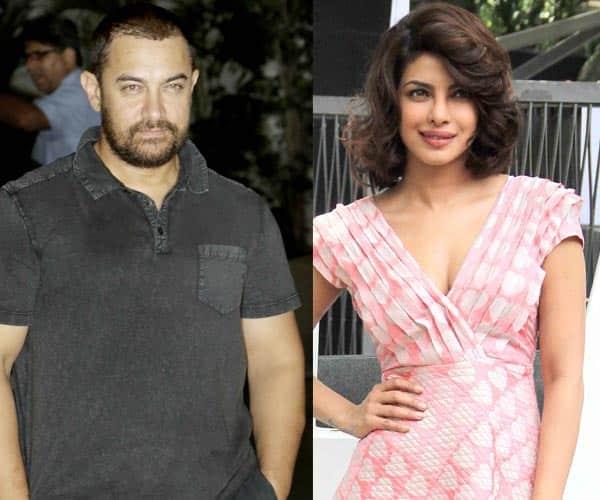 After Kangana Ranaut, Priyanka Chopra impresses Aamir Khan!