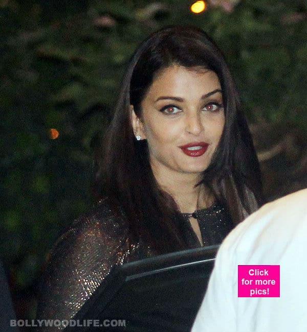 Aishwarya Rai Bachchan gets her party mode on for Mumbai Indians' IPL win- view pics!