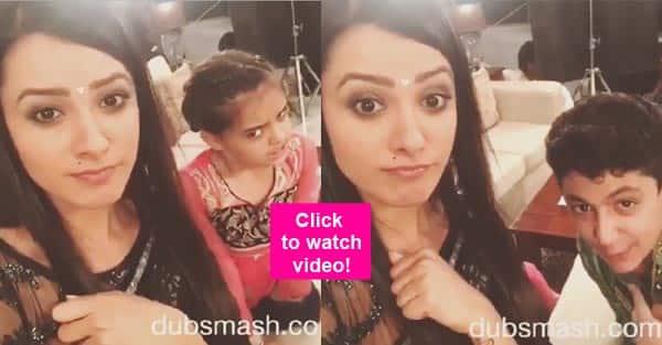 Oh WOW! Yeh Hai Mohabbatein's Aditya and Ruhi make their dubsmash debut with Anita Hassanandani- watch video