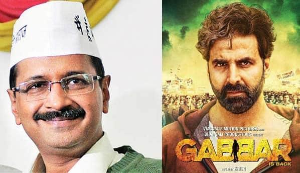 Delhi CM Arvind Kejriwal all praises for Akshay Kumar's Gabbar Is Back!