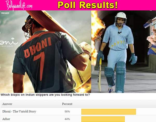 Fans are looking forward to MS Dhoni's biopic rather than Mohammad Azharuddin