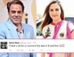 Dharmendra is fit and fine, clarifies daughter Esha Deol