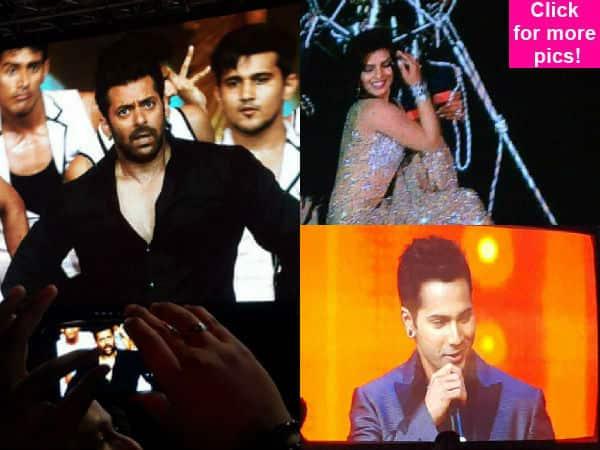 AIBA 2015: Salman Khan, Priyanka Chopra and Varun Dhawan make jaws drop with their EPIC performances- view pics!