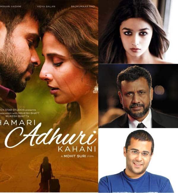 Alia Bhatt, Chetan Bhagat, Anubhav Sinha are going gaga over Vidya Balan-Emraan Hashmi-Rajkummar Rao's Hamari Adhuri Kahani trailer!