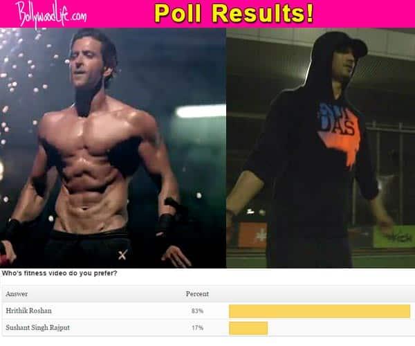 Fans choose Hrithik Roshan over Sushant Singh Rajput!