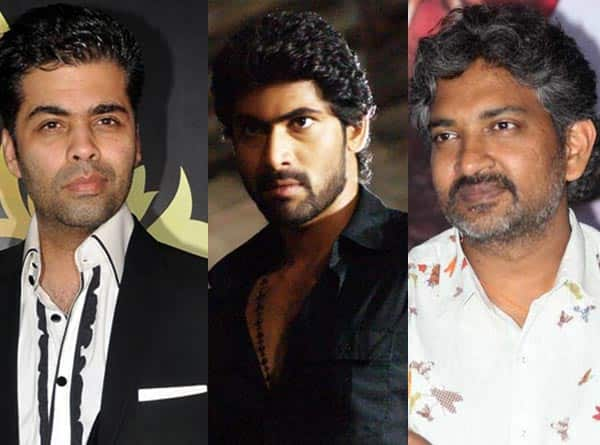 Rana Daggubati the real reason behind Karan Johar and SS Rajamouli's collaboration