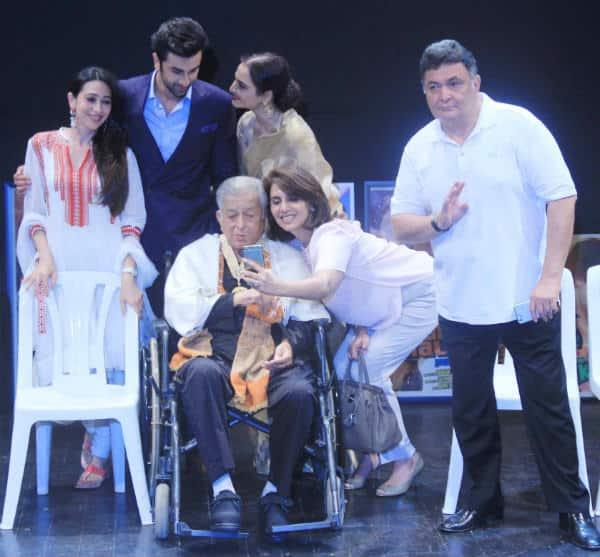 Ranbir Kapoor, Karishma Kapoor, Amitabh Bachchan express their happiness over Shashi Kapoor's Dadasaheb Phalke honour