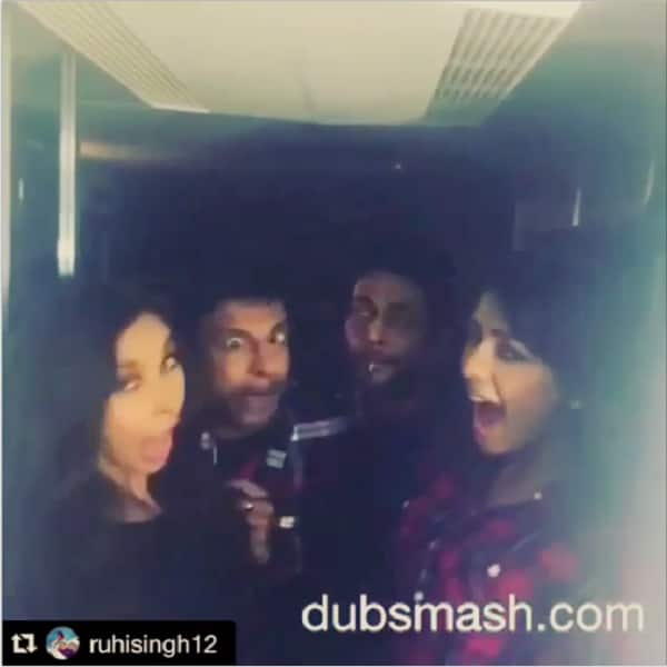 Javed Jaffrey, Lisa Ray, Ruhi Singh and Krishna Chaturvedi come up with a comical dubsmash video!