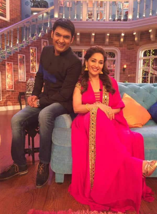 Comedy Nights With Kapil: Madhuri Dixit to make Kapil Sharma dance!