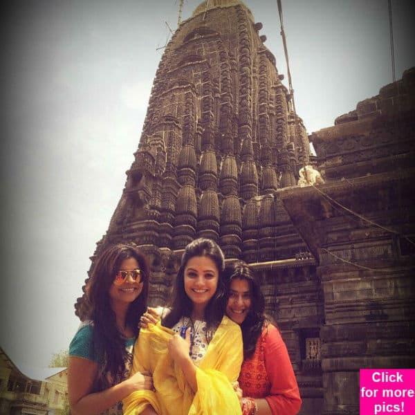 Yeh Hai Mohabbatein's Anita Hassanandani takes a road trip with Ekta Kapoor- view pics!