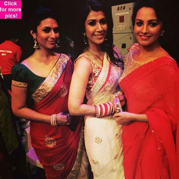 Nach Baliye 7: Karan Patel's wife Ankita pays a surprise visit with Divyanka Tripathi – Anita Hassanandani- view pics!