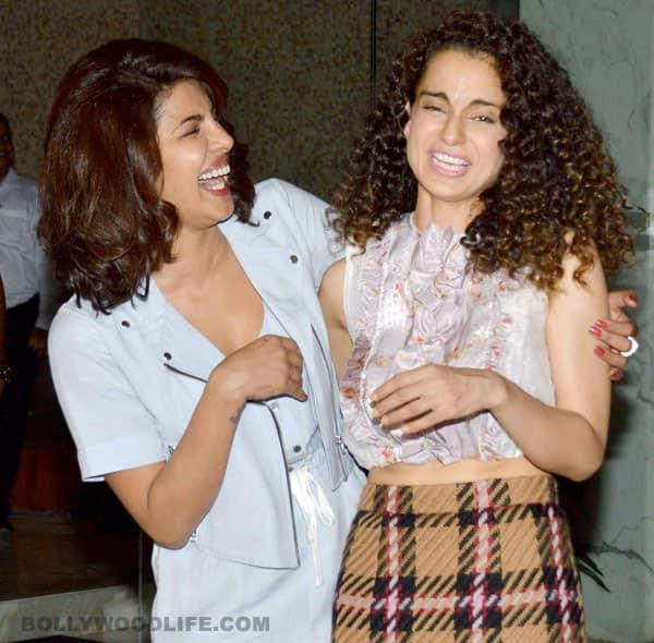 'Fashion' movie actress Priyanka Chopra and Kangana Ranaut-best friends