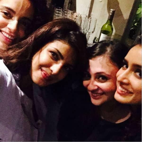 Priyanka Chopra, Shraddha Kapoor, Kangana Ranaut had the awesomest girls' night out – view pic!