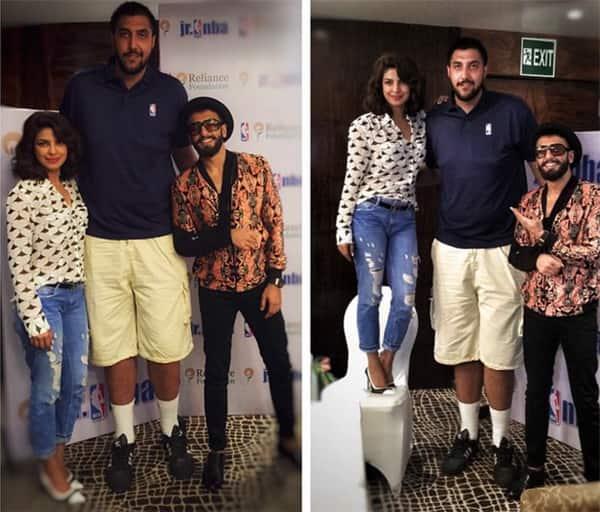 Who stood taller than Ranveer Singh opposite Priyanka Chopra – view pic!