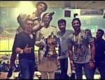 Ranveer Singh, Farhan Akhtar, Anil Kapoor rejoicing Mumbai Indians' victory at IPL finale- viewpics