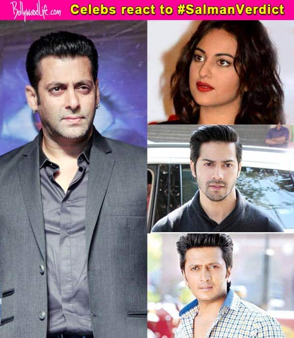 Salman Khan hit-and-run case: Shocked Bollywood celebrities react to the actor's conviction on Twitter!
