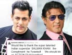 Sylvester Stallone invites Salman Khan to do an action film with him!
