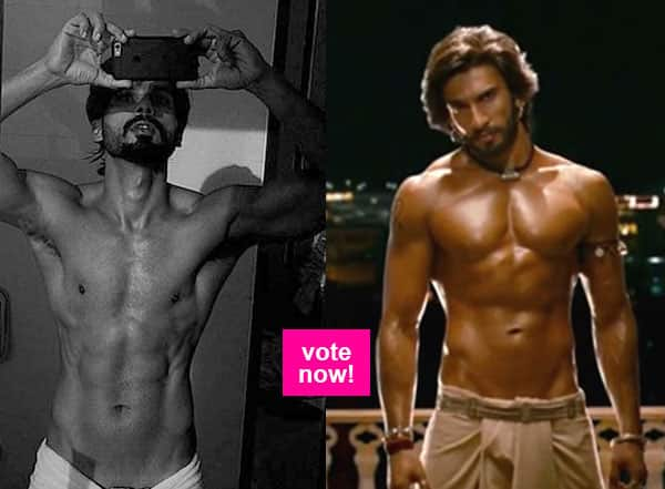 Vote Now: Ranveer Singh or Shahid Kapoor, who's dropping it like it's hot?
