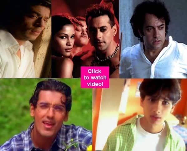 When Salman Khan, Shah Rukh Khan and Shahid Kapoor sizzled in musicvideos!