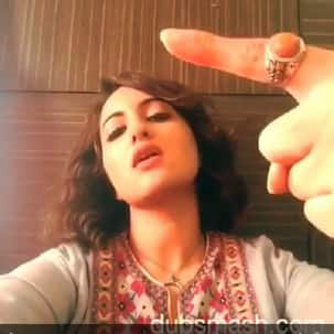 Sonakshi Sinha takes inspiration from Brad Pitt's Fight Club for Akira - watch video!