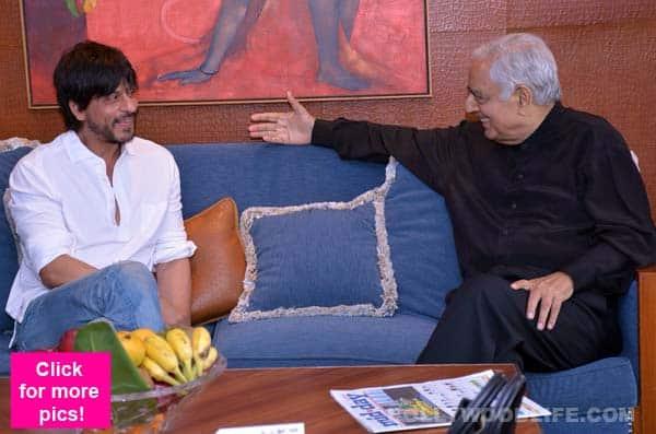 Shah Rukh Khan wants to shoot in Kashmir again, meets J&K CM Mufti Mohammad Sayeed – view pics!