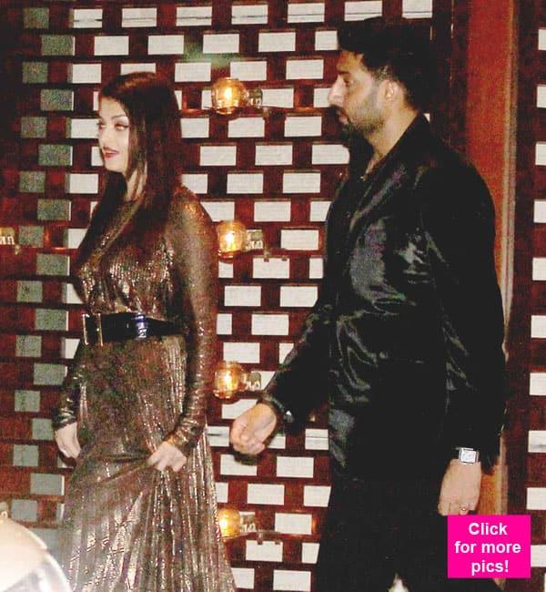 Aishwarya Rai and Abhishek Bachchan attend the Ambanis' celebration bash for Mumbai Indians' IPL win- view pics!