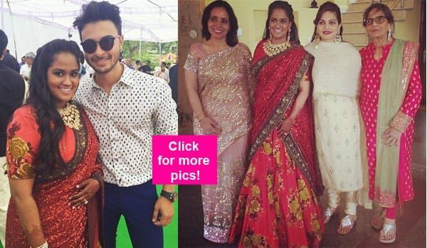 Inside pics of Salman Khan's sister Arpita's Mandi wedding reception
