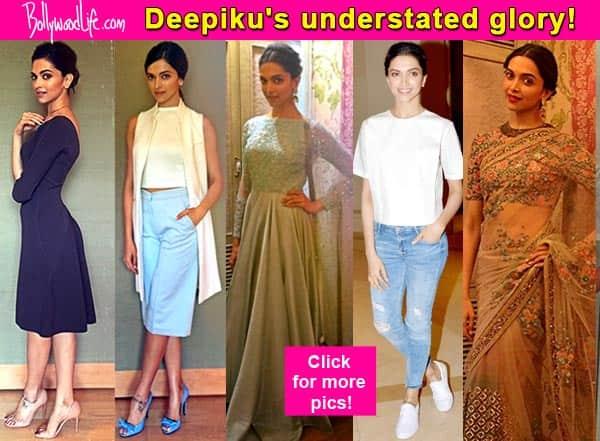 Deepika Padukone slayed us with her subtle fashion statements- view pics!