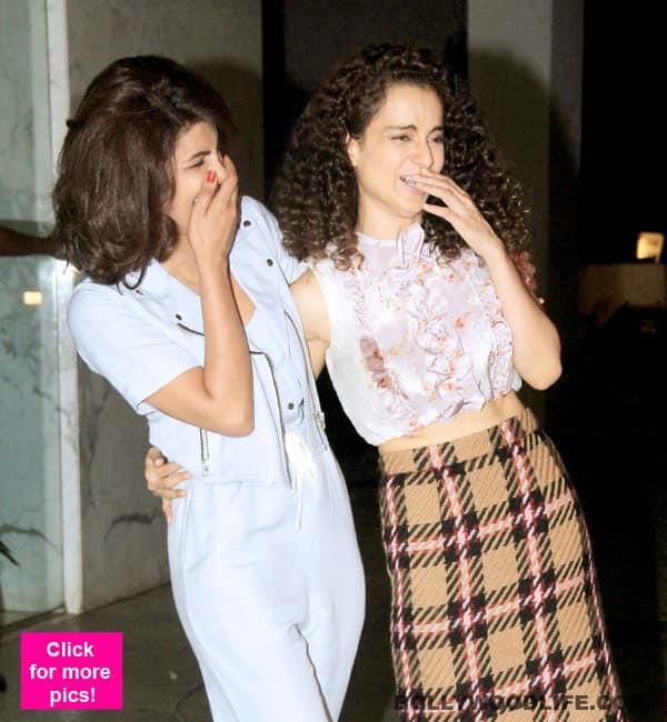 Move over every dostana you've ever known and make way for Priyanka Chopra and Kangana Ranaut!