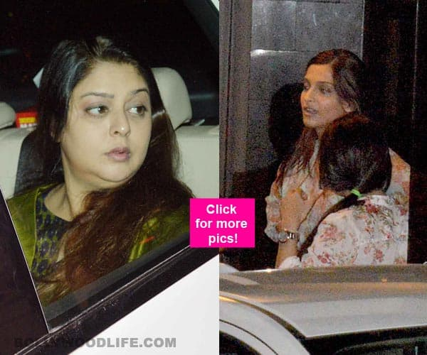 Salman Khan 2002 hit and tun case: Sonam Kapoor and Nagma visit the actor- view pics!