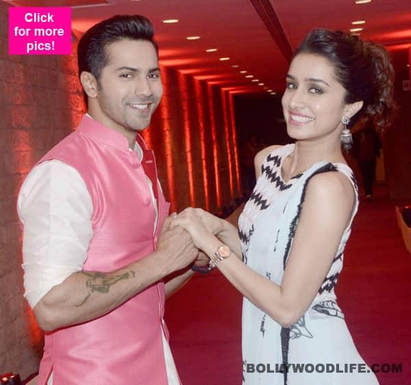 Varun Dhawan and Shraddha Kapoor promote ABCD 2 at sets of Indian Idol Junior 2!