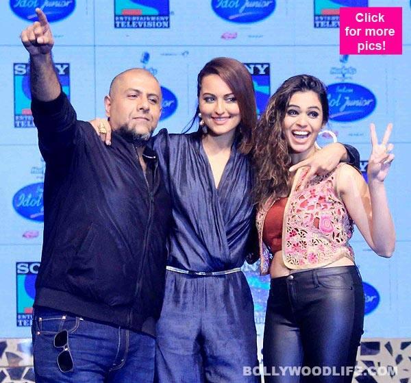 Sonakshi Sinha launches Indian Idol Junior with Vishal Dadlani and Shalmali Kholgade- view pics!