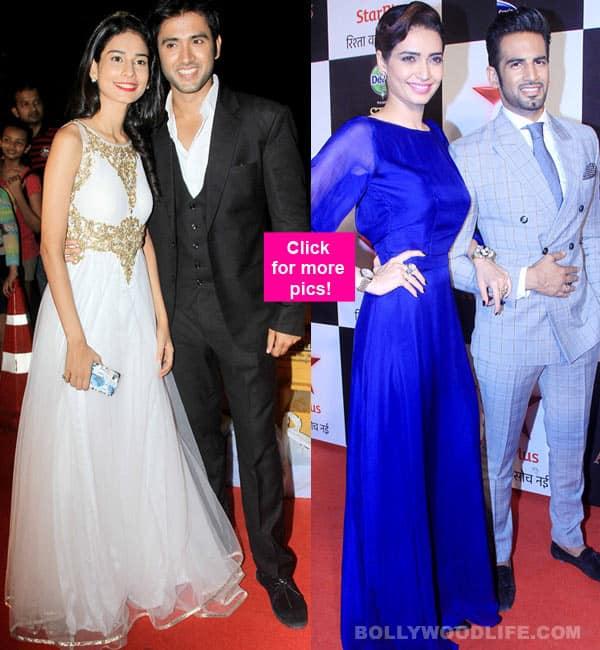 Star Parivaar Awards 2015: Aneri Vajani- Mishkat Varma and Karishma Tanna- Upen Patel SIZZLE on the red carpet- view pics!
