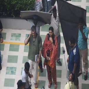 Inside pics: Ajith spotted shooting for Thala 56 with Lakshmi Menon!